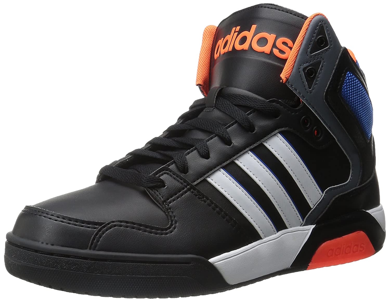 adidas NEO Men's BB9TIS Lifestyle Basketball Shoe, Black