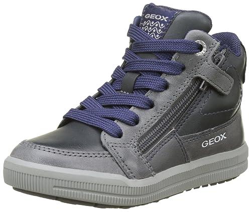 316c474b8c8467 Geox J Arzach F, Sneaker a Collo Alto Bambino: Amazon.it: Scarpe e borse