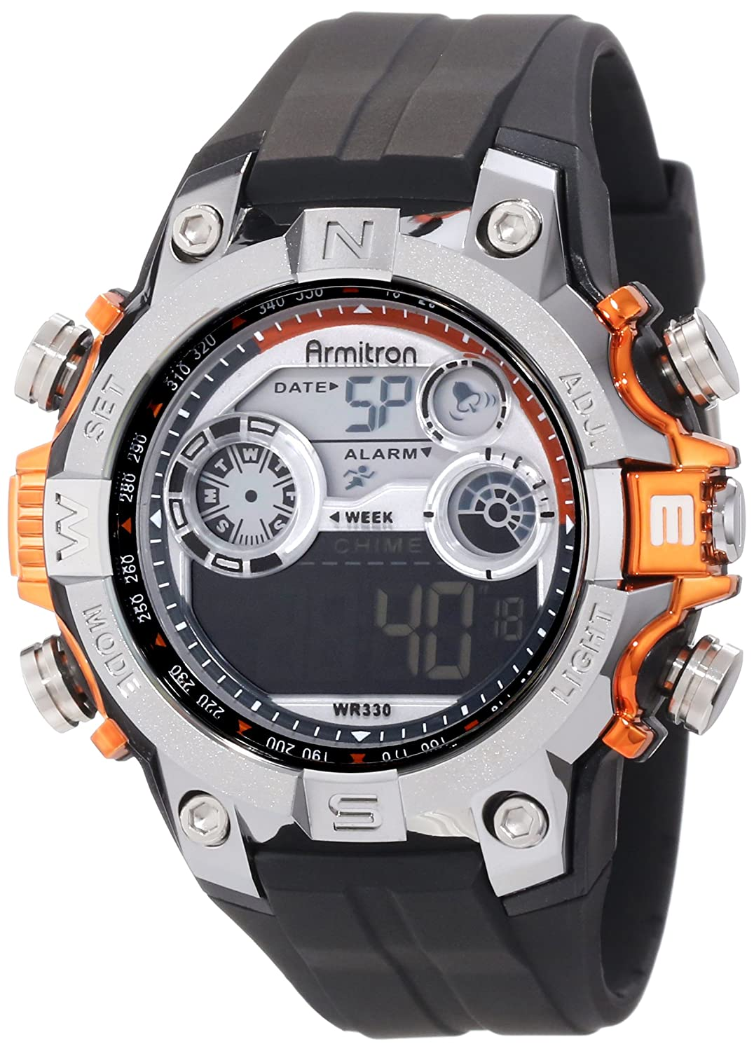 Buy Armitron Sport Mens 408251org Sport Watch With Online At Low