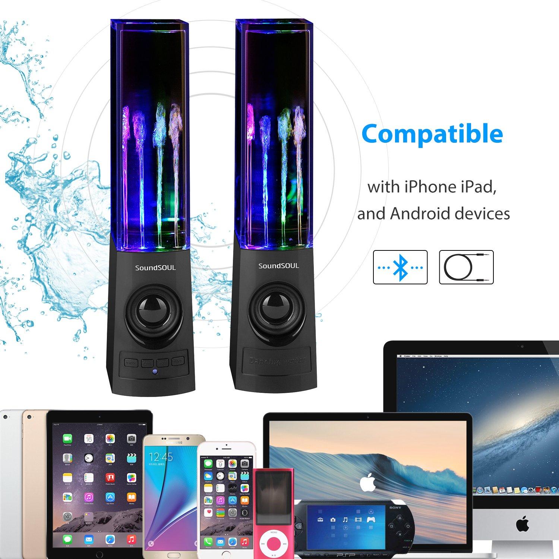 Amazon Soundsoul Bluetooth Dancing Water Speakers Led Speakers