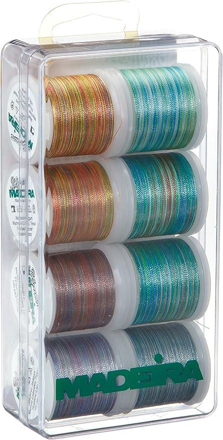 Madeira 8015 Polyneon Astro Color - Caja de Hilos de Costura ...