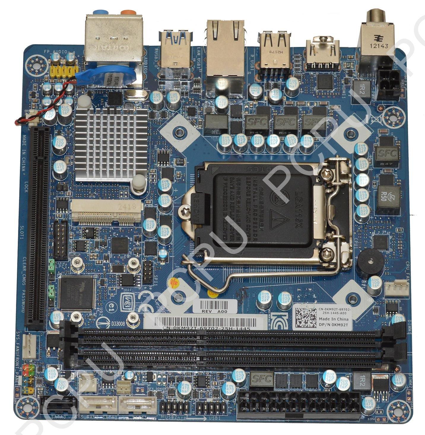 Computer Components & Parts Dell Intel Desktop Motherboard s1156 ...