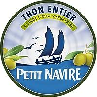 Petit Navire Thon Entier l'Huile d'Olive 160 g