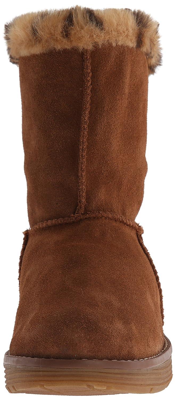 Skechers Adorbs?Polar - Zapato Botín de Piel Mujer, Negro (Black), 39