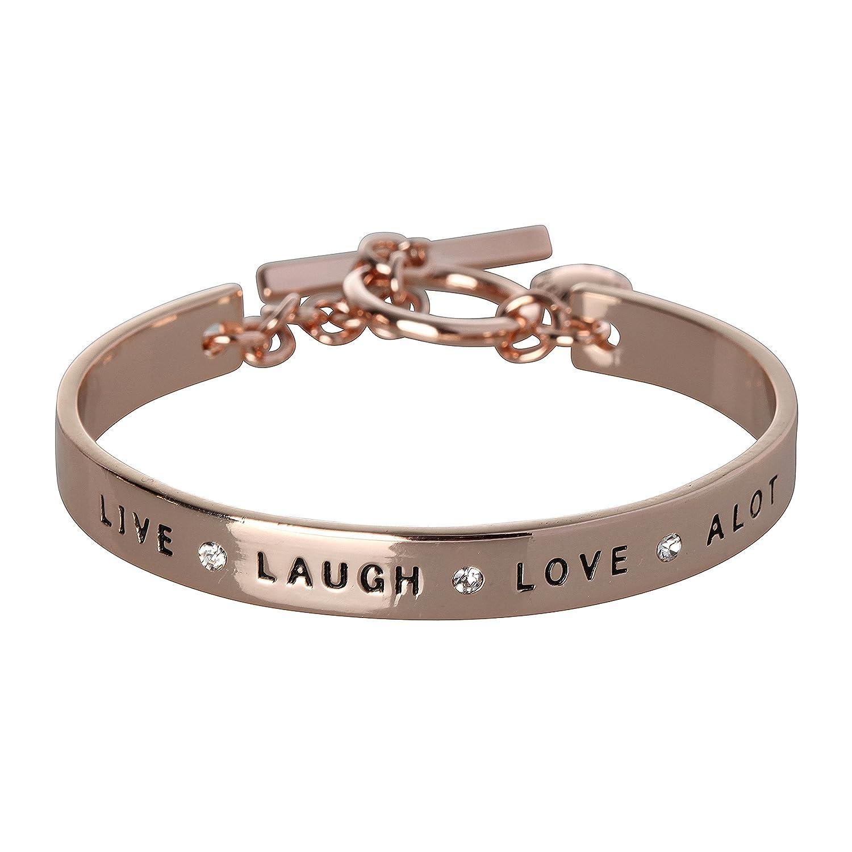 BCBG Generation Live Laugh Love Cuff Bracelet 08672012K107