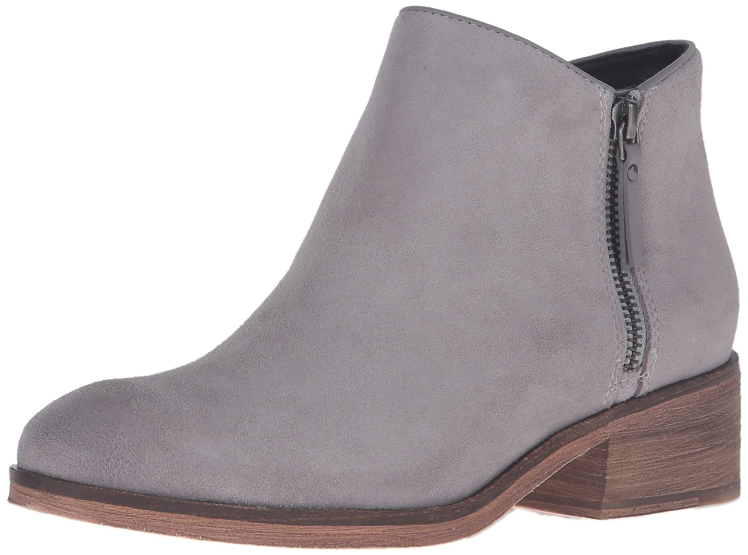 Cole Haan Women's Hayes Flat Ankle Bootie B01FX6Z7LC 8 B(M) US|Ironstone Suede