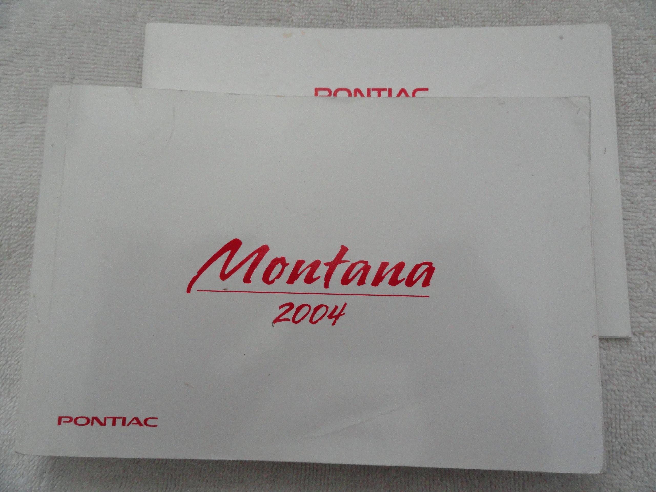 2004 pontiac montana owners manual pontiac amazon com books rh amazon com 2004 Pontiac Montana Interior 2004 pontiac montana owner's manual