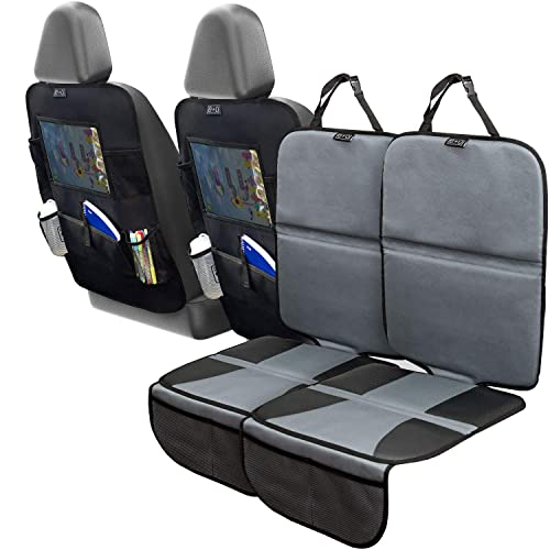 Car Seat Protector and Kick Mat Car Seat Cover
