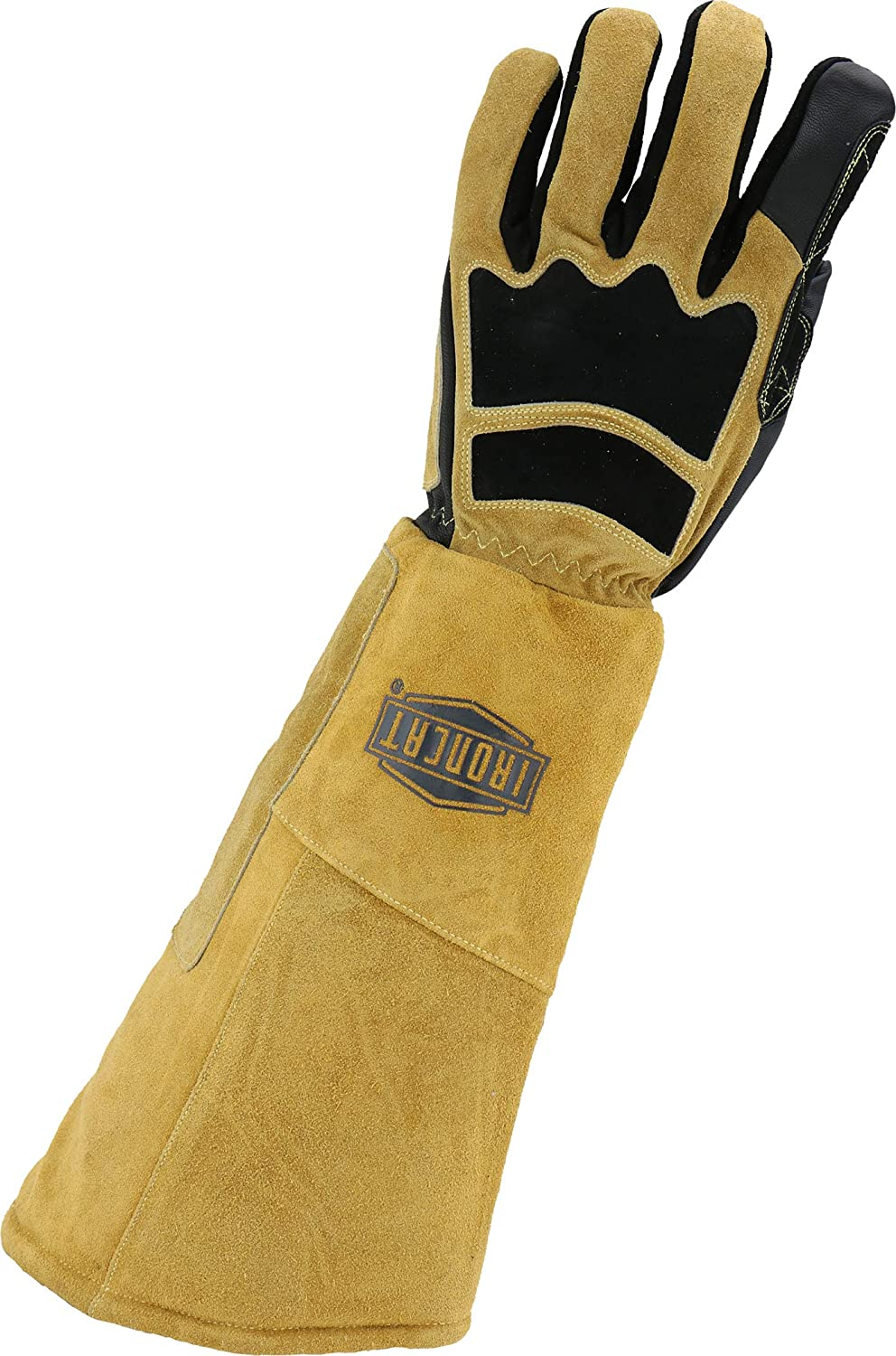 Left Hand Only 9070LHO//L West Chester IRONCAT 9070 Premium Grain Goatskin and Split Cowhide Leather Stick Welding Glove Large