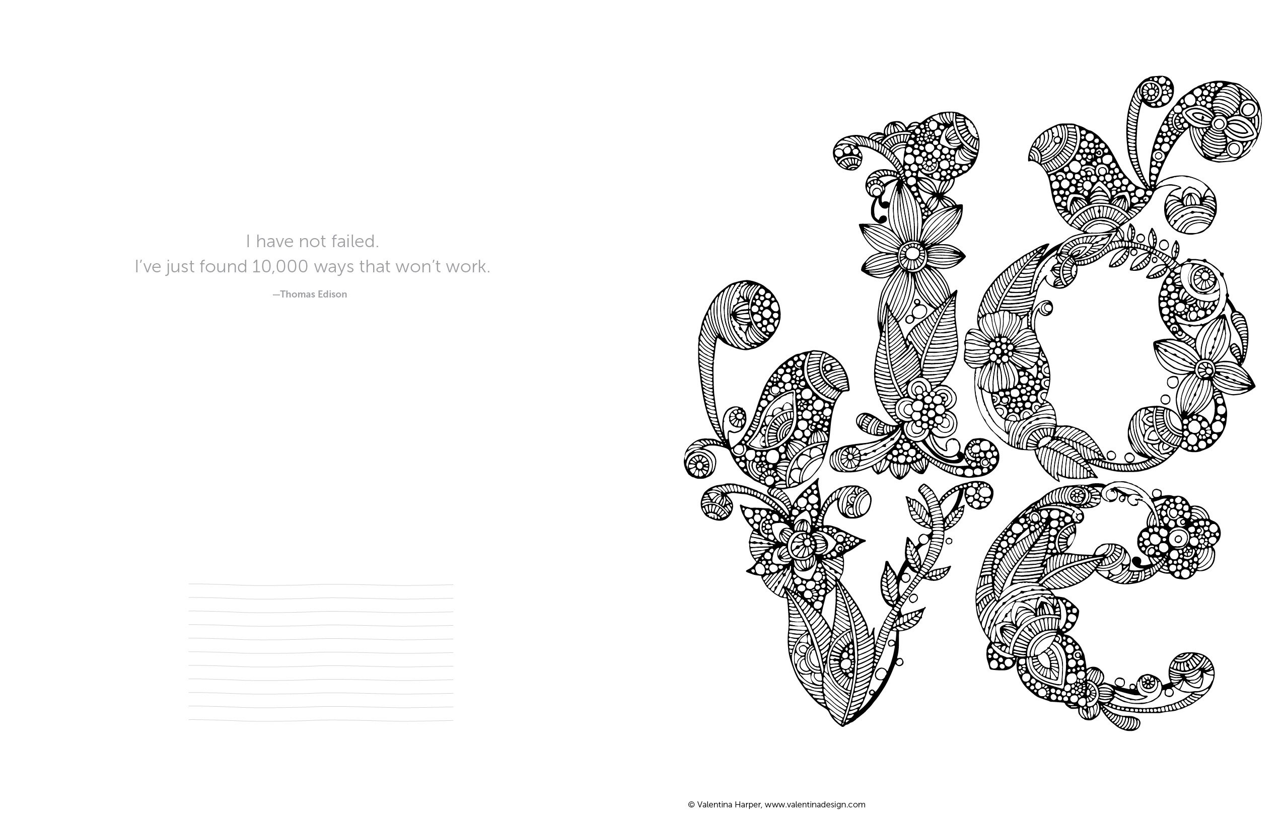 Creative Coloring Inspirations Art Activity Pages To Relax And Enjoy Design Originals 30