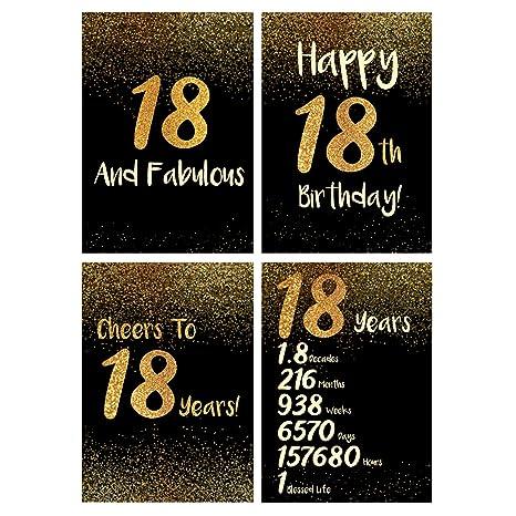 Amazoncom 18th Birthday Decorations Top 18th Birthday