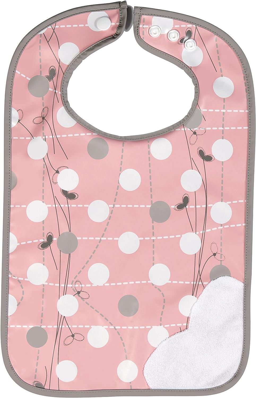 Pink Badabulle Plastic Maxi Bib