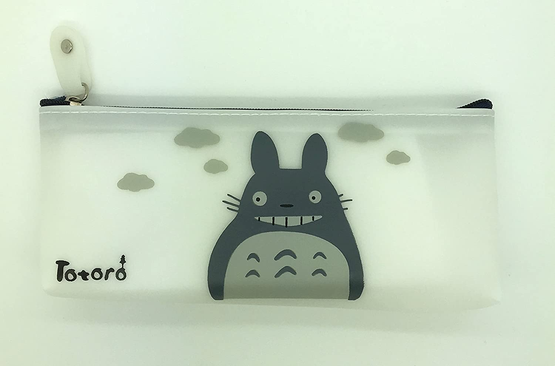 PartyErasers Cute Totoro silicona Pen Pencil Case/Funda – Big Smile: Amazon.es: Oficina y papelería