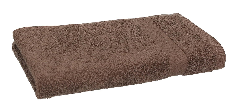 Betz Paquete de 10 piezas de toallas para invitados Juego de toalla de lavabo 100% algodón tamaño 30x50 cm toalla de mano PREMIUM de color marrón nuez y ...