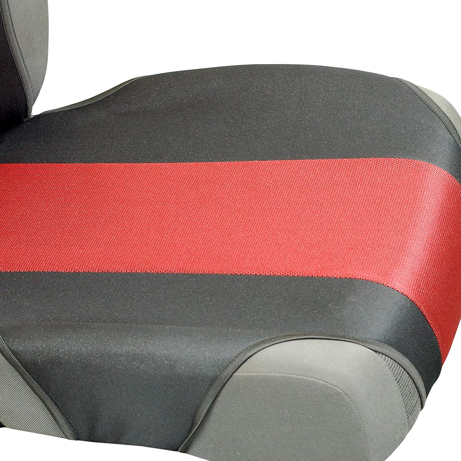 Car Seat Covers for Qashqai Front Seats Color Premium Red /& Black