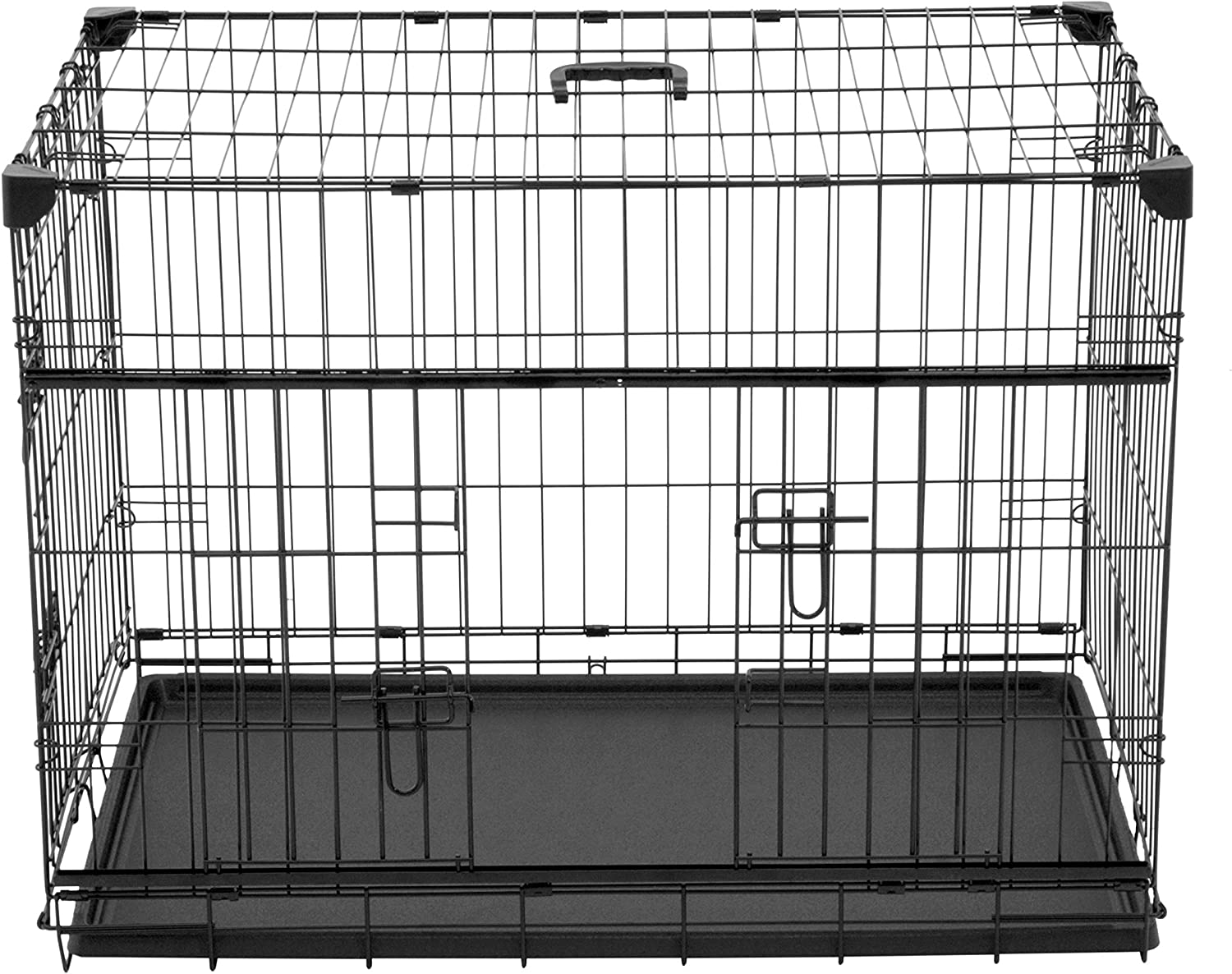 """Lucky Dog 30"""" (S/M) Slyder Whisper Glide Sliding Door Dog Crate 