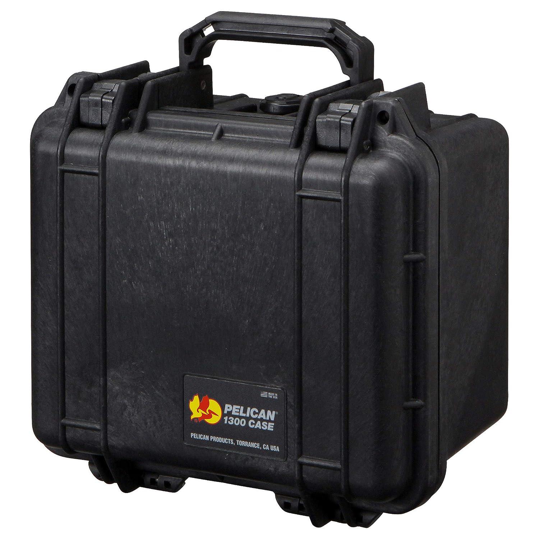 PELICAN(ペリカン) 小型防水ハードケース 1300HK ブラック 1300HKBK 6.9L  ブラック B075XLNFDM