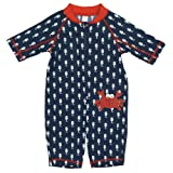 Kiko and Max Navy Crab Sun Suit 24 Months