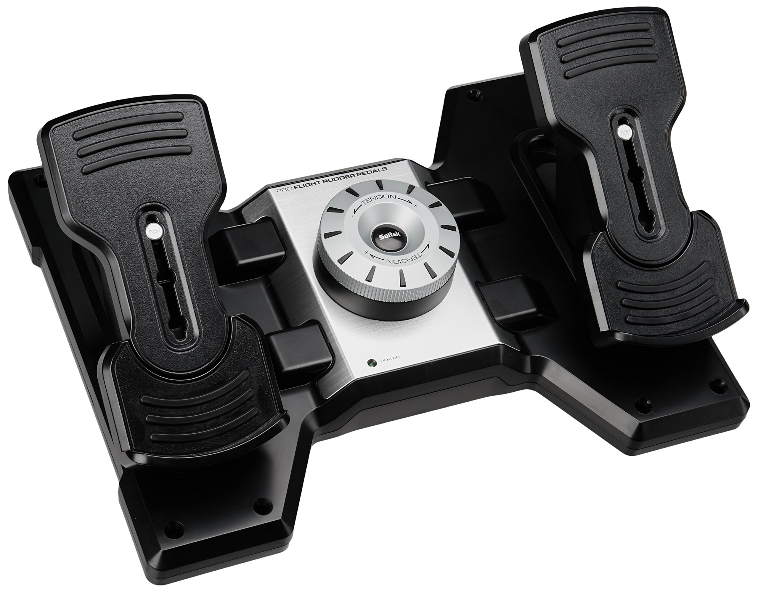 Saitek PZ35 Pro Flight Rudder Pedals Palonnier simulation de vol pour PC product image