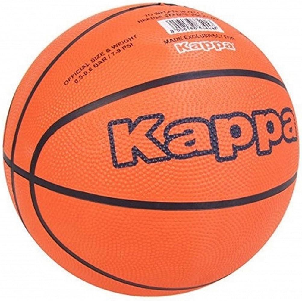 Kappa - Balón de baloncesto de talla 7 (Talla 7/Naranja/negro ...