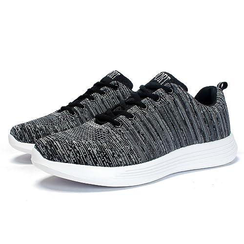 Leaproo Zapatos de Hombres Deportes para Gimnasio Correr Asfalto Aire Libre: Amazon.es: Zapatos y complementos