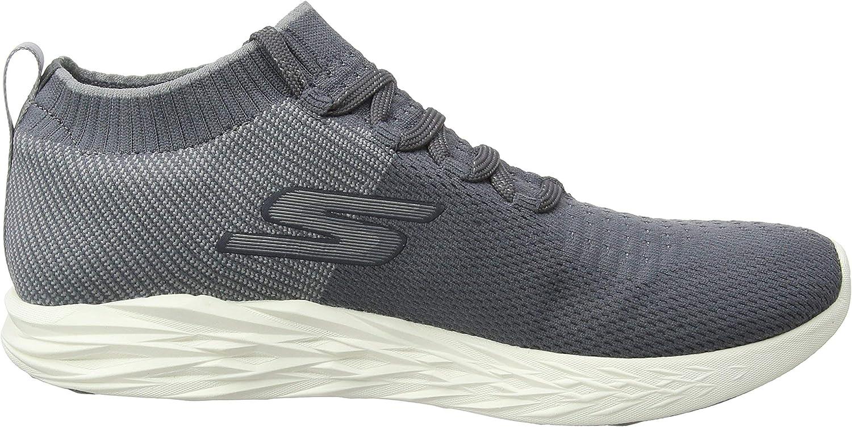 Skechers Men's 55209 Fitness Shoes Grey Charcoal