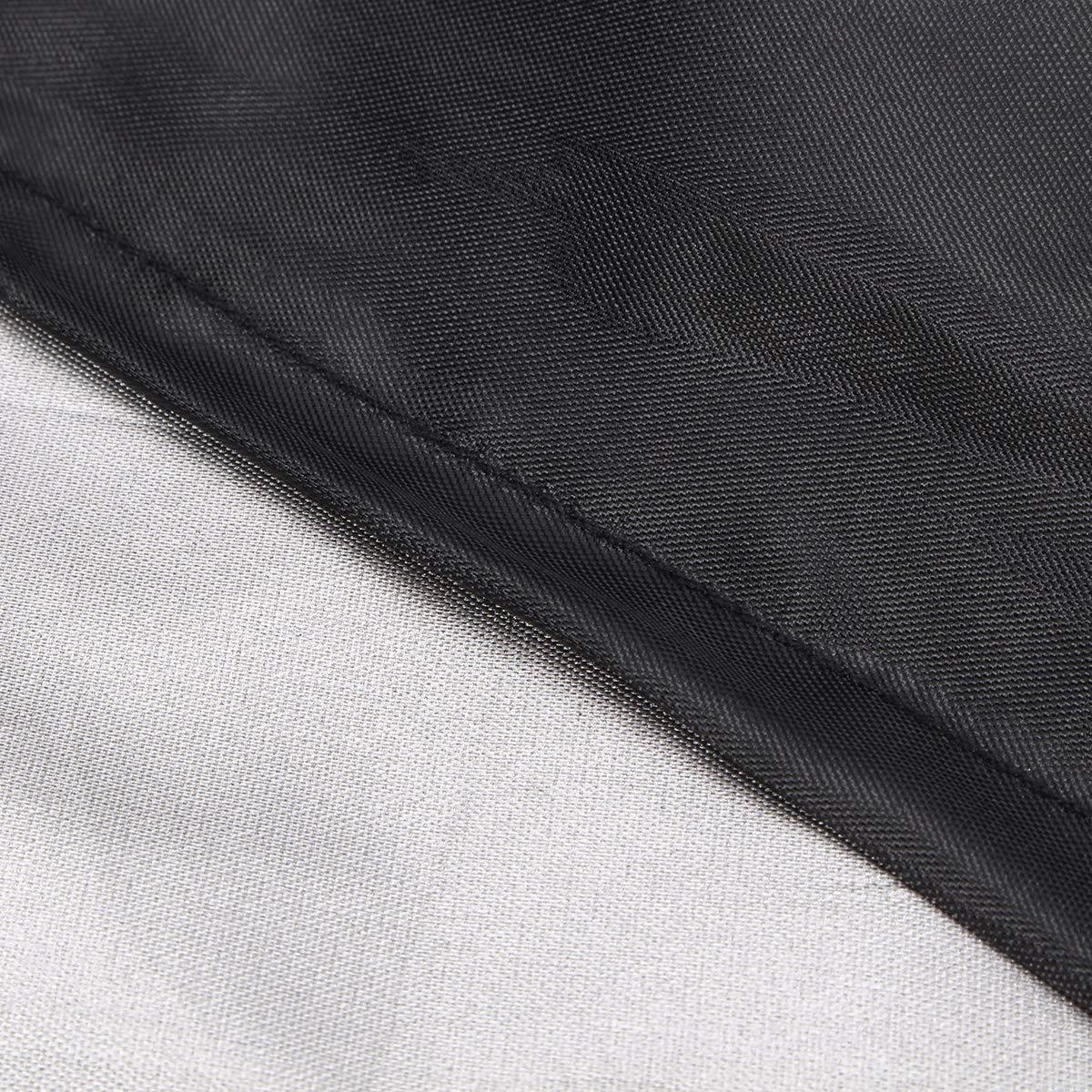 Poliestere Impermeabile Copertura 123 x 61 x 72 cm king do way Copertura per Mobili da Giardino Telo Protettivo per Tavolo e Sedie da Esterni in PVC
