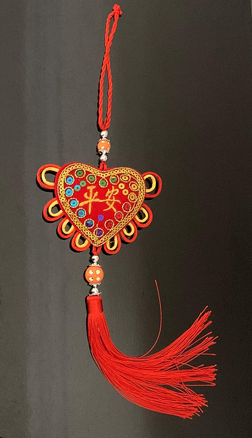 FENG SHUI-CHINESE KNOT WALL CAR HANGING ORNAMENT-BLISS HAPPINESS BLESSING LUCKY