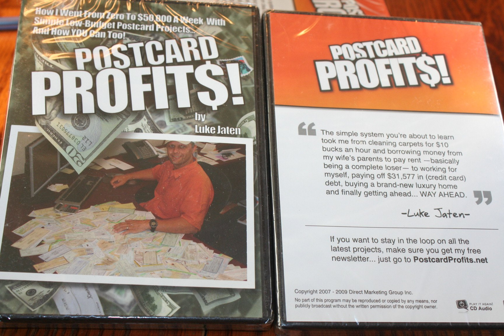 Download Postcard Profits Part Three: The Product (How I Went From Zero to $50,000 a Week With Simple Low-Budget Postcard Projects... And How YOU Can Too!, 3) PDF