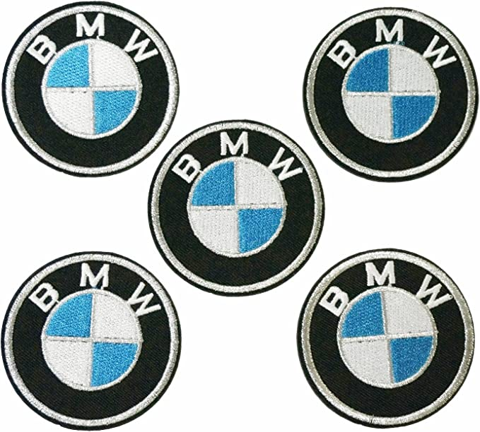 BMW 16.5x5.5 Racing Biker Embroidered iron-on Patch//Badge Motor Sports//logo