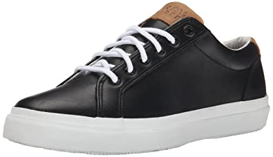 Sperry Top-Sider Men's Striper LTT Leather Boating Shoe, Black, ...
