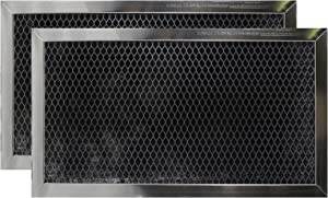Air Filter Factory 2 Pack Compatible Replacement For Frigidaire 5304409641 Microwave Oven Charcoal Carbon Filters