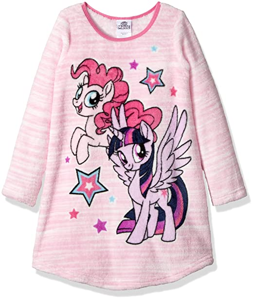 Amazon.com: My Little Pony - Albornoz mágico para niña: Clothing