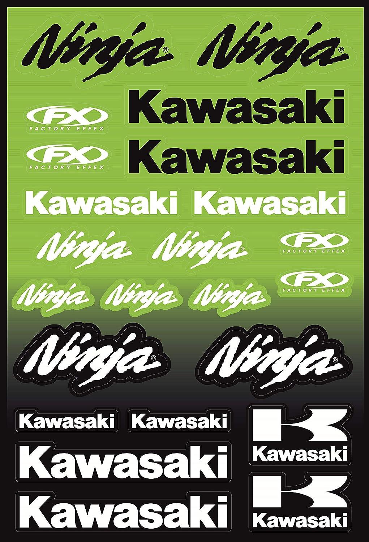Kit Pegatinas ADESIVI Compatible para Kawasaki Ninja ...