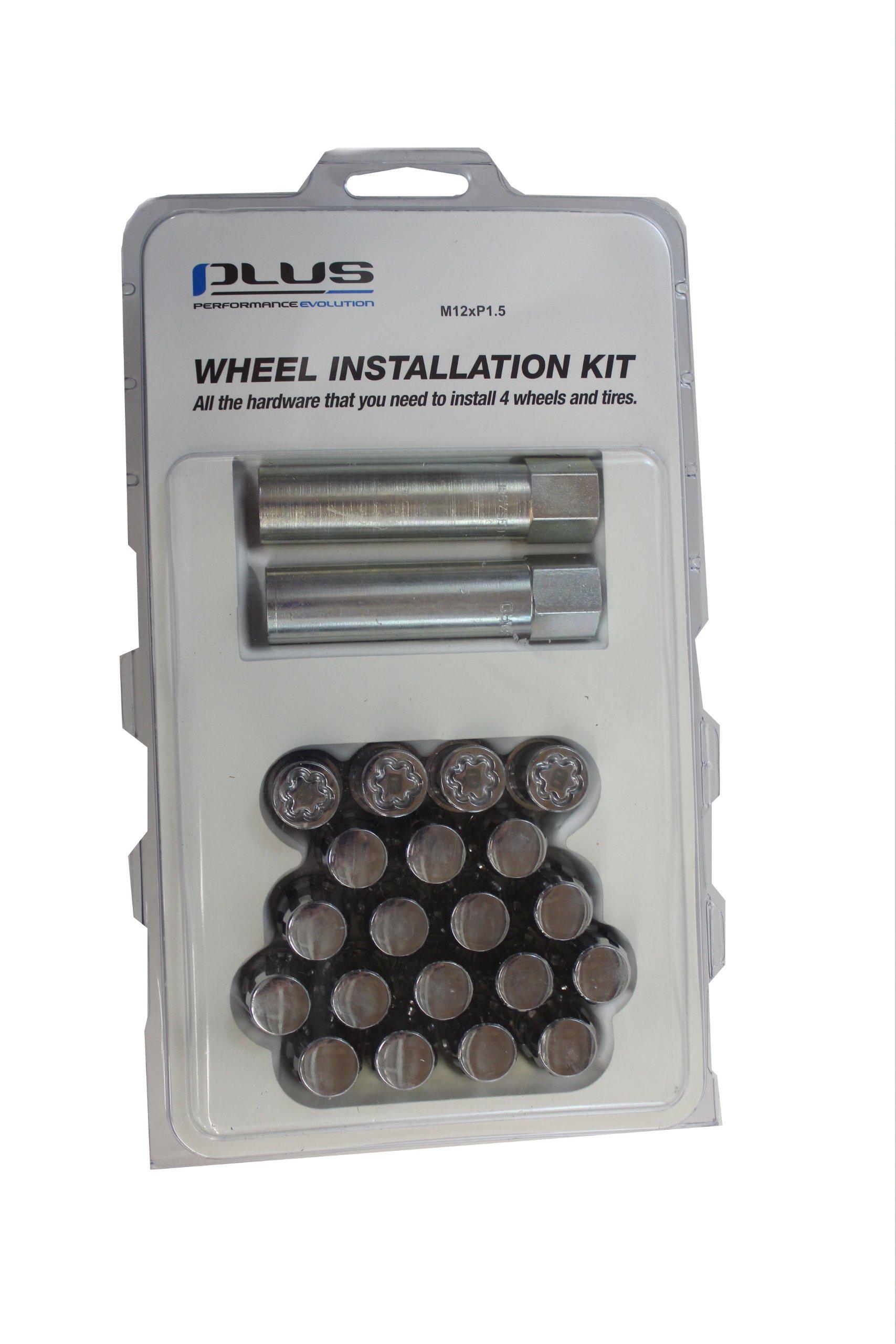 Genuine Toyota Accessories PTR27-47100 Wheel Installation Kit