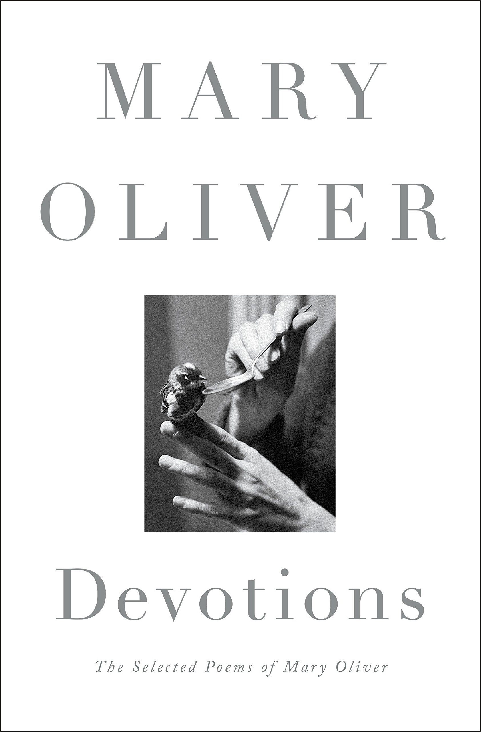 Mary Oliver Devotions book cover. #maryoliver #poetry #poems #poetrybook #devotions