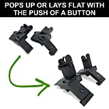 TACTICON 45 Degree Offset Flip Up Iron Sights for