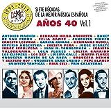 Siete Décadas de la Música Española: Años 50, Vol. 2 de Various ...