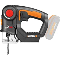 WORX WX550.9 Reciprocating Saw & Jigsaw 20V MAX Axis Multi-Purpose Saw (Tool only - Battery & Charger Sold Seperately)