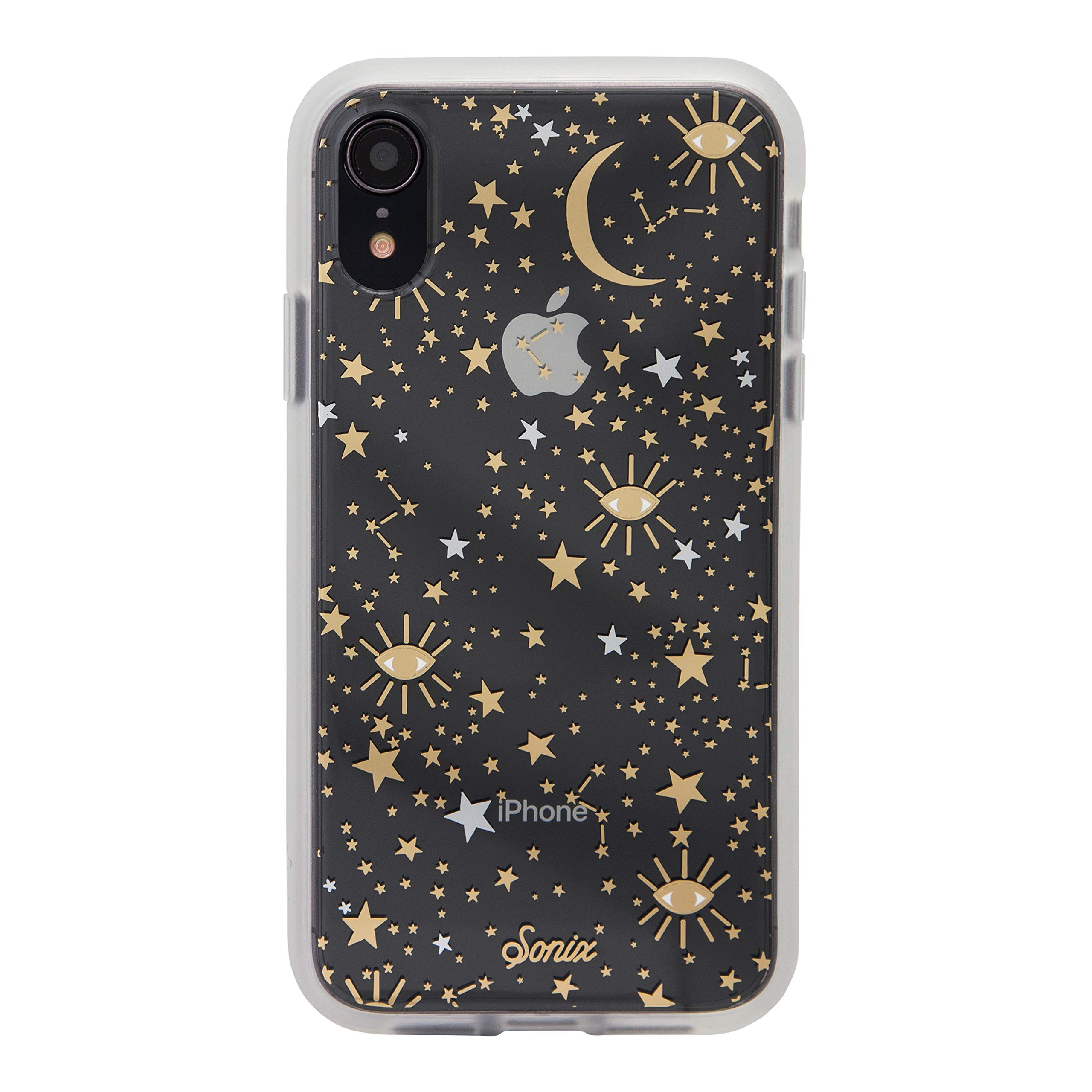 Sonix Cosmic Stars Case for iPhone XR [Military Drop Test Certified] Protective Gold Silver Star Clear Case for iPhone XR by Sonix