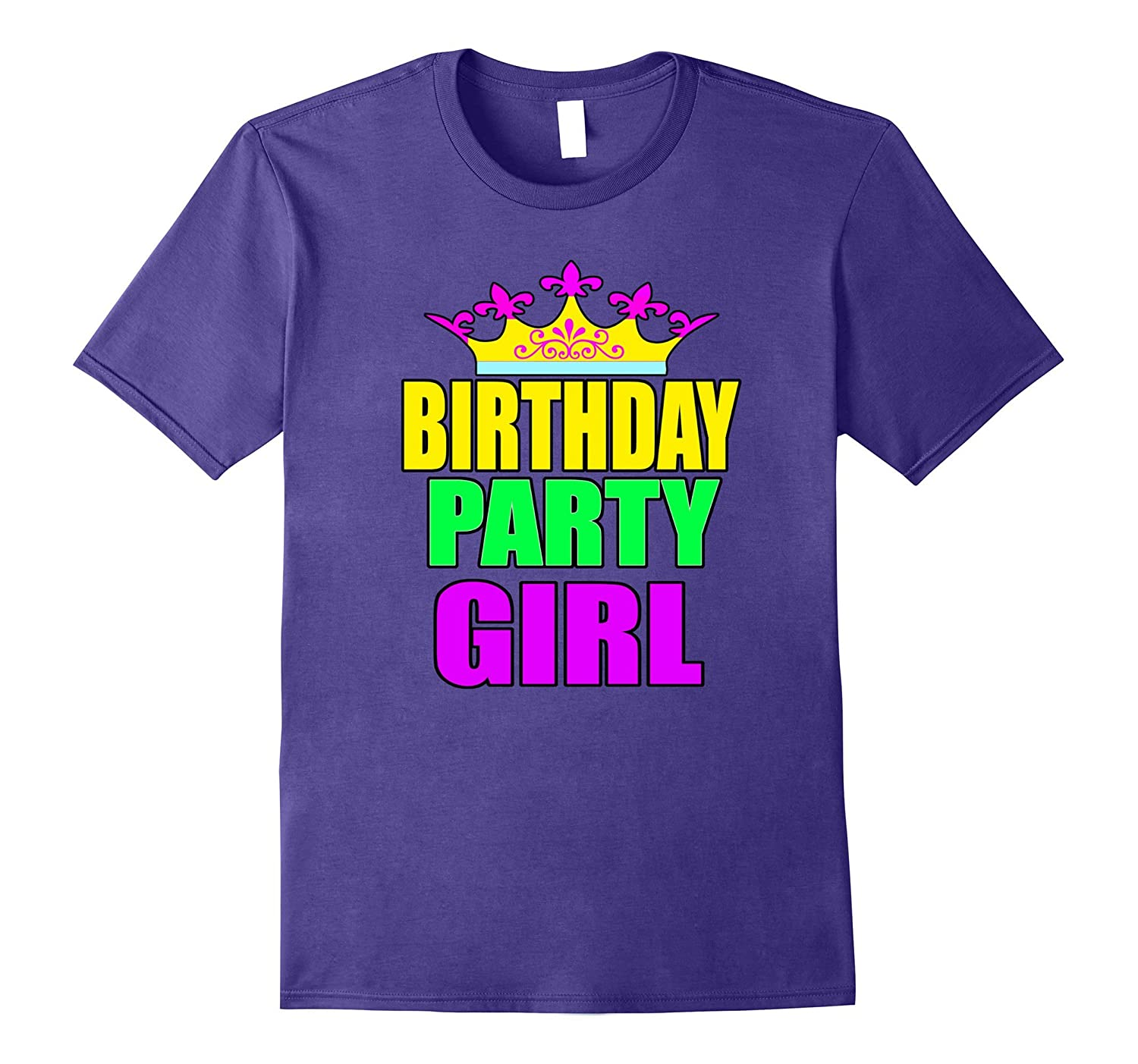 Birthday Party Girl Matching Family Party Shirts-FL
