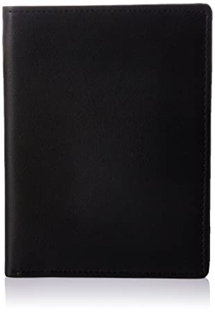 f203e68d8beb Royce Leather RFID Blocking Bifold Passport Currency Travel Wallet