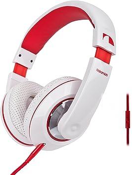 NAKAMICHI Auriculares Over-Ear NK780 con micrófono para Smartphone ...