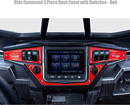 Dash Panel Kit for 2017 Polaris RZR Turbo CNC Billet Aluminum