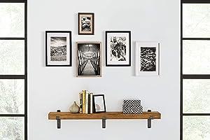 "Martin Furniture WS48H Rustic Wall Shelf, 48"", Honey"