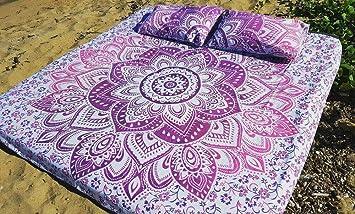 housse de couette couvre lit Housse de couette réversible Couvre lit Couvre lit motif Mandala  housse de couette couvre lit