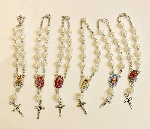 Amazoncom Guadalupe Or Virgencita Plis Rosary Handmade