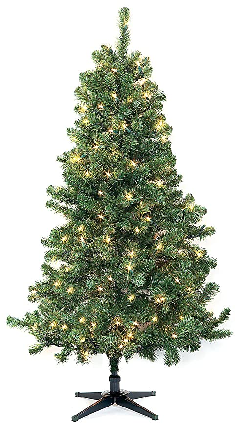 4e870f3863a9 8.5 ft Full Sized Sierra Fir Lighted Artificial Christmas Tree  161678