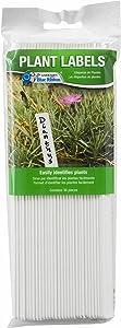 "Gardener's Blue Ribbon T021B Plant Labels, 8"", Bright White"
