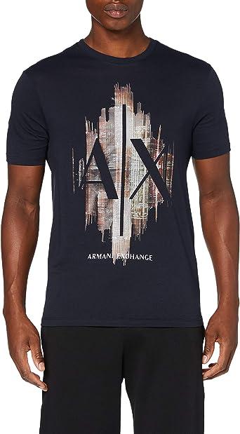 Armani Exchange T-Shirt Camiseta para Hombre: Amazon.es: Ropa y accesorios